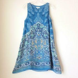 Max Studio | Blue Print Dress